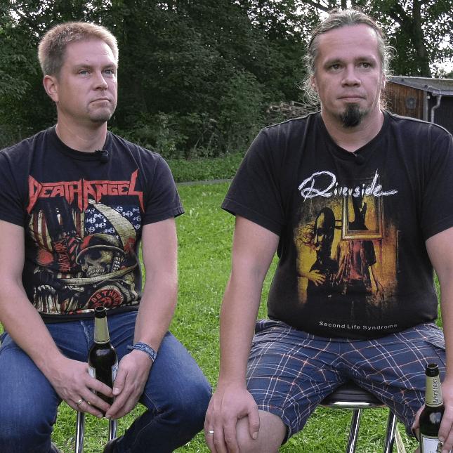 Michael Burkhardt & Jan Singer (Metalclub Reichenbach)